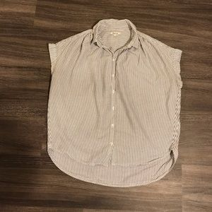 Madewell Stripe Button Down Shirt